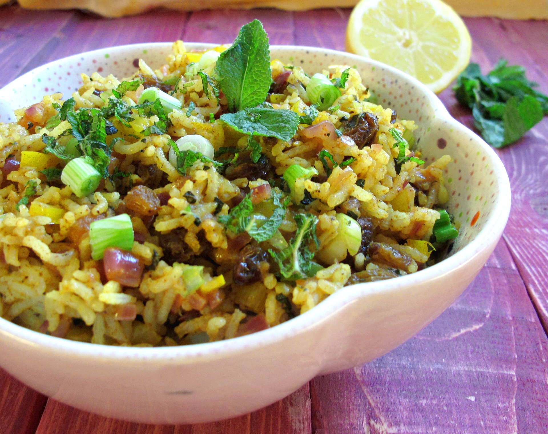 moroccan vegetable rice